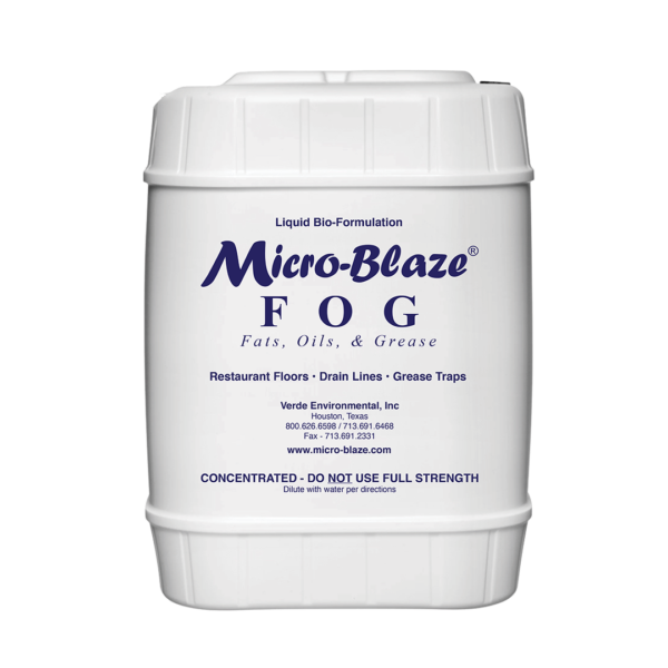 Verde - Products - FOG - 5 Gallon