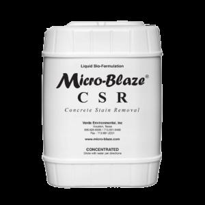 Micro-Blaze® CSR (Concrete Stain Remover)